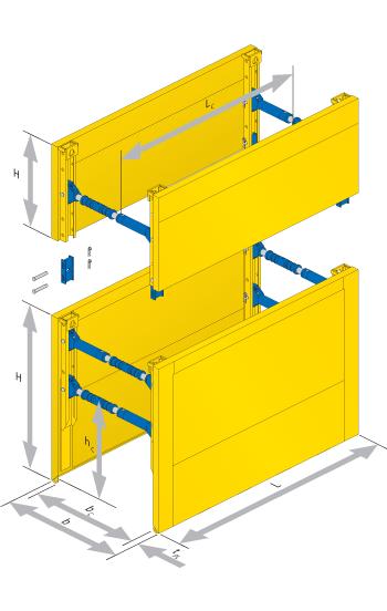 Standardna Box kanalna oplata Serija 600