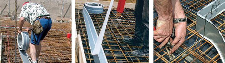 Fradiflex metalna brtvena traka