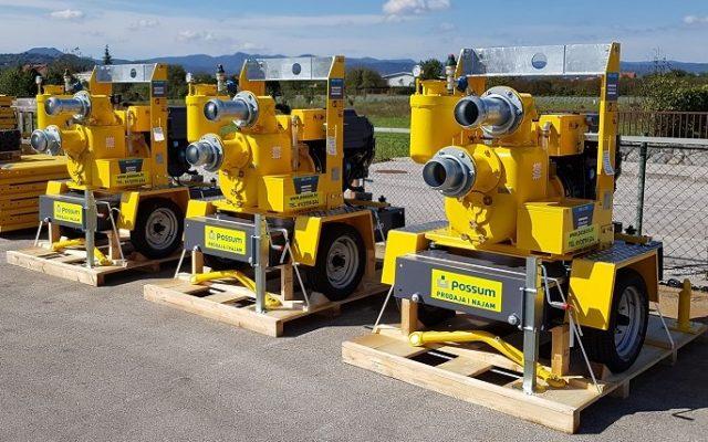 Centrifugalne motorne pumpe za vodu Najam i Prodaja