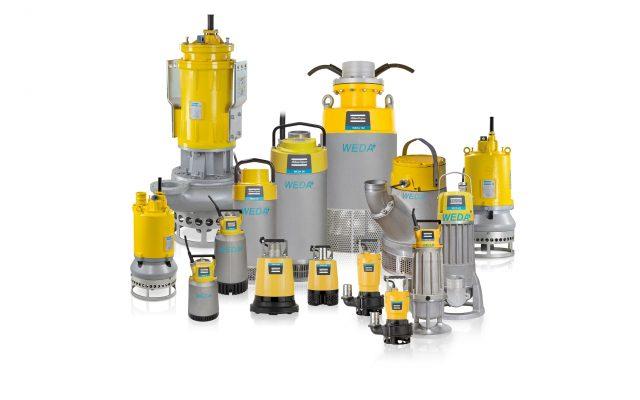 WEDA električne potopne pumpe za vodu